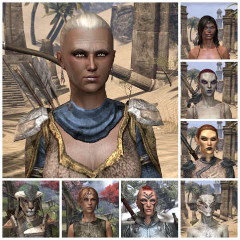 Ladies of Elder Scrolls