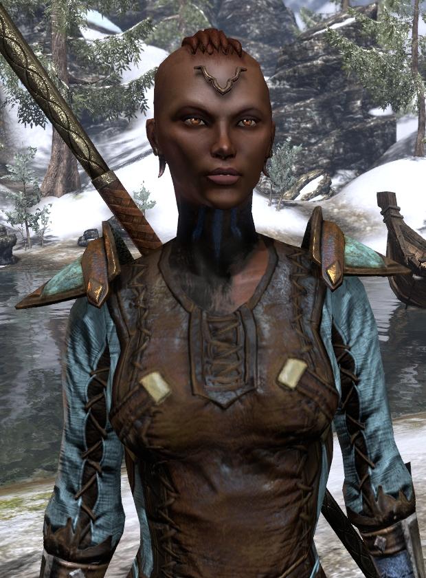 "Introducing Zahra al-Nayyir, Redguard ""Celestial"" Druid ... Elder Scrolls Online Redguard Names"