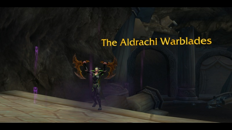 Demon Hunter with Aldrachi Warblades