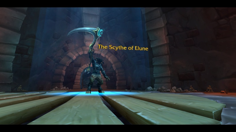 Druid with Scythe of Elune
