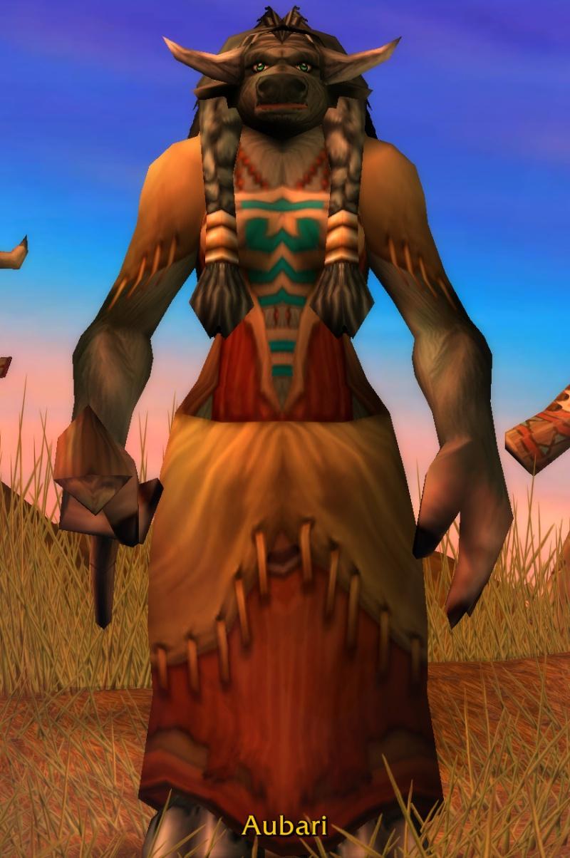 Aubari character screen